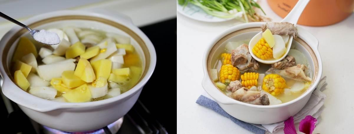 Canh xương nấu rau củ món đơn giản mà ngon cho bữa cơm ngày nóng - ảnh 4