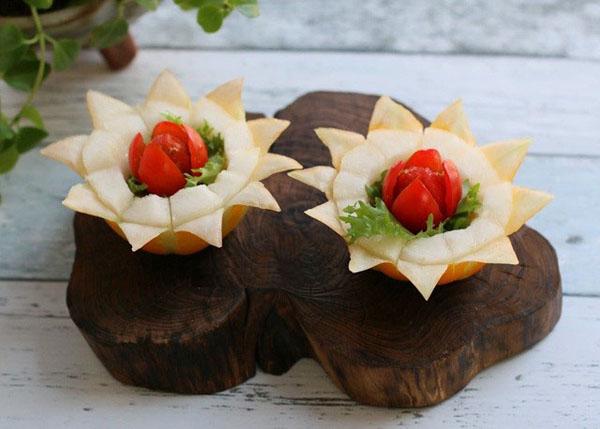 Những cách cắt tỉa trái cây cực dễ dành cho mẹ vụng - Ảnh 6.