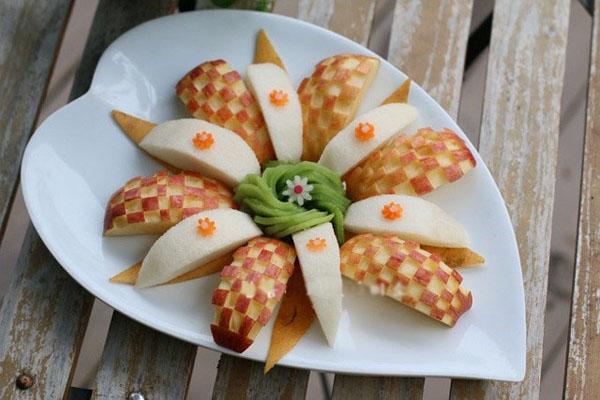 3 cách cắt tỉa trái cây trang trí đĩa đơn giản mà đẹp - Ảnh 4.