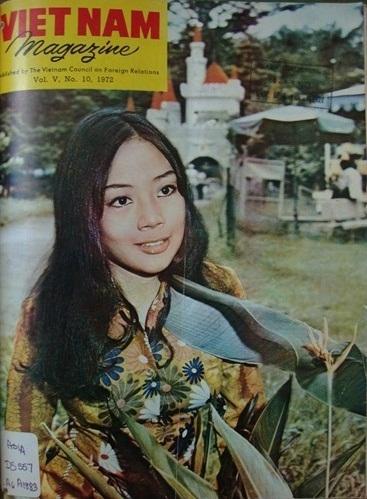 Hình ảnh các người đẹp Sài Gòn xưa trên bìa tạp chí Việt Nam - Ảnh 1.