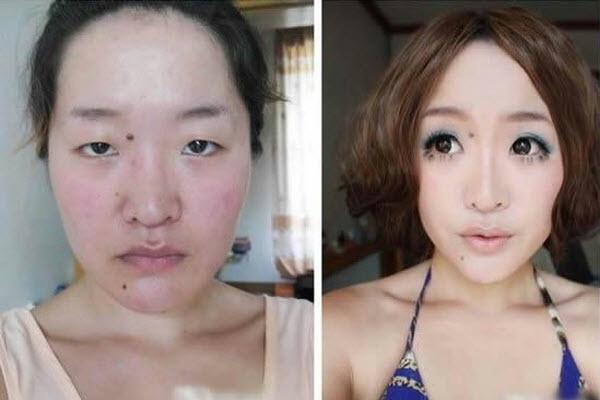 Yêu nhau bao lâu luôn make-up kỹ càng, sau khi mặn nồng, lộ mặt mộc thì cô nàng bị đá - Ảnh 4.
