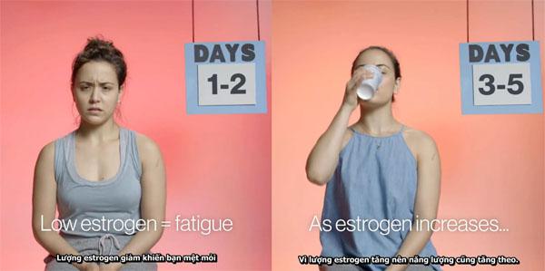 Sự thay đổi của cơ thể người phụ nữ trong 1 tháng - Ảnh 1.