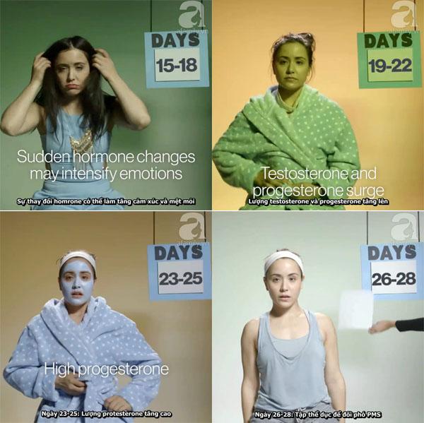 Sự thay đổi của cơ thể người phụ nữ trong 1 tháng - Ảnh 4.