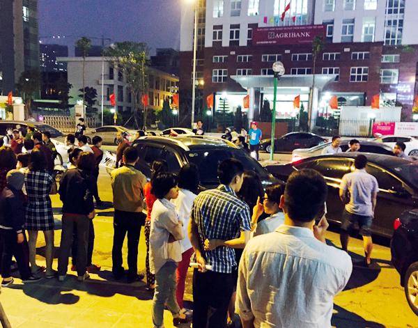 Hà Nội: Chủ đầu tư chặn hầm, không cho ô tô vào chung cư Hồ Gươm Plaza khiến giao thông tắc nghẽn - Ảnh 4.