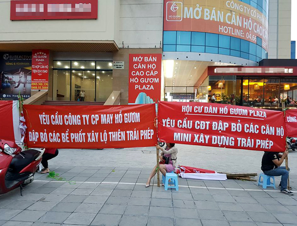 Hà Nội: Chủ đầu tư chặn hầm, không cho ô tô vào chung cư Hồ Gươm Plaza khiến giao thông tắc nghẽn - Ảnh 10.