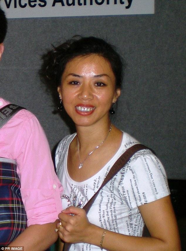 Người vợ Trung Quốc bị đột ngột mất tích.