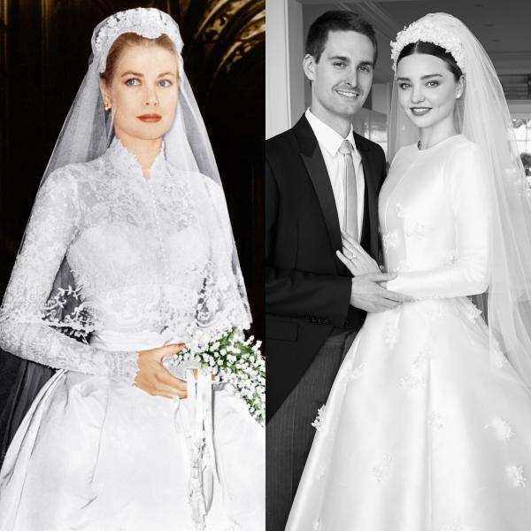 Câu chuyện đằng sau chiếc váy cưới kín như bưng mà Miranda Kerr mặc tại đám cưới lần thứ 2 - Ảnh 7.