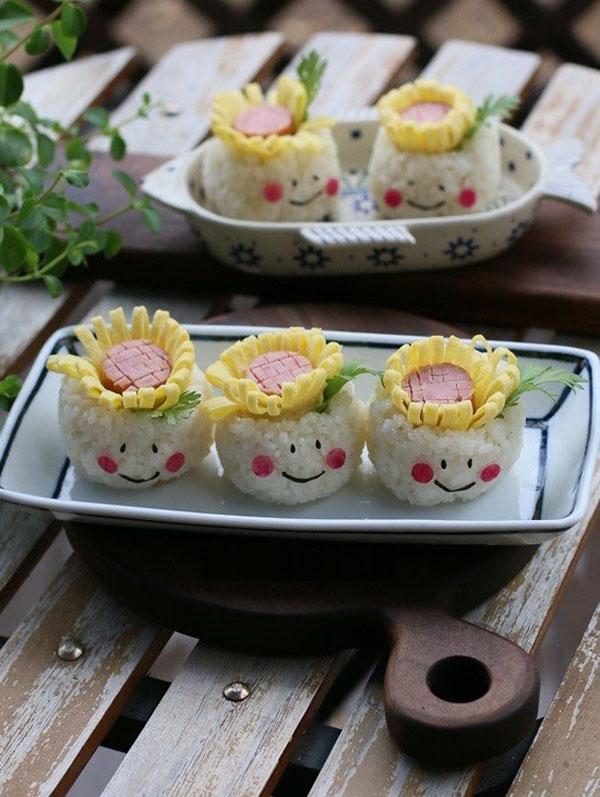 3 cách làm cơm cuộn đẹp lung linh cho bữa trưa siêu hấp dẫn - Ảnh 14.