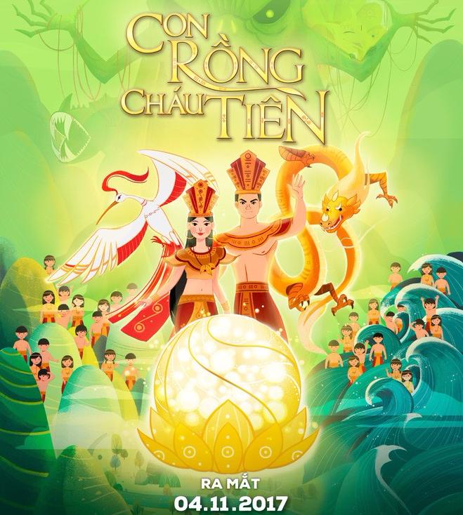 """""""Con Rồng Cháu Tiên"""": Bộ phim hoạt hình Việt đầu tiên gây bão mạng xã hội với 4 triệu lượt xem chỉ sau 3 ngày - Ảnh 1."""