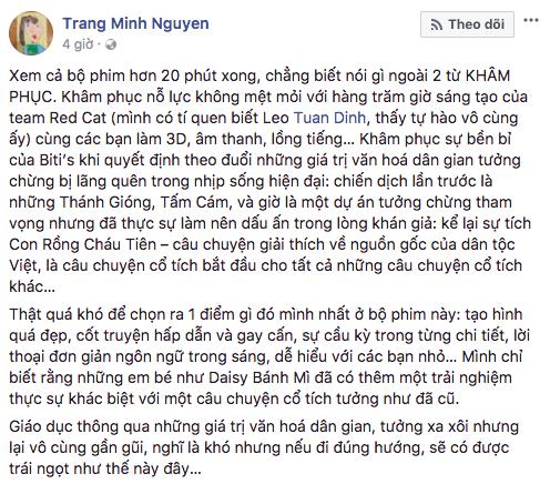 """""""Con Rồng Cháu Tiên"""": Bộ phim hoạt hình Việt đầu tiên gây bão mạng xã hội với 4 triệu lượt xem chỉ sau 3 ngày - Ảnh 9."""
