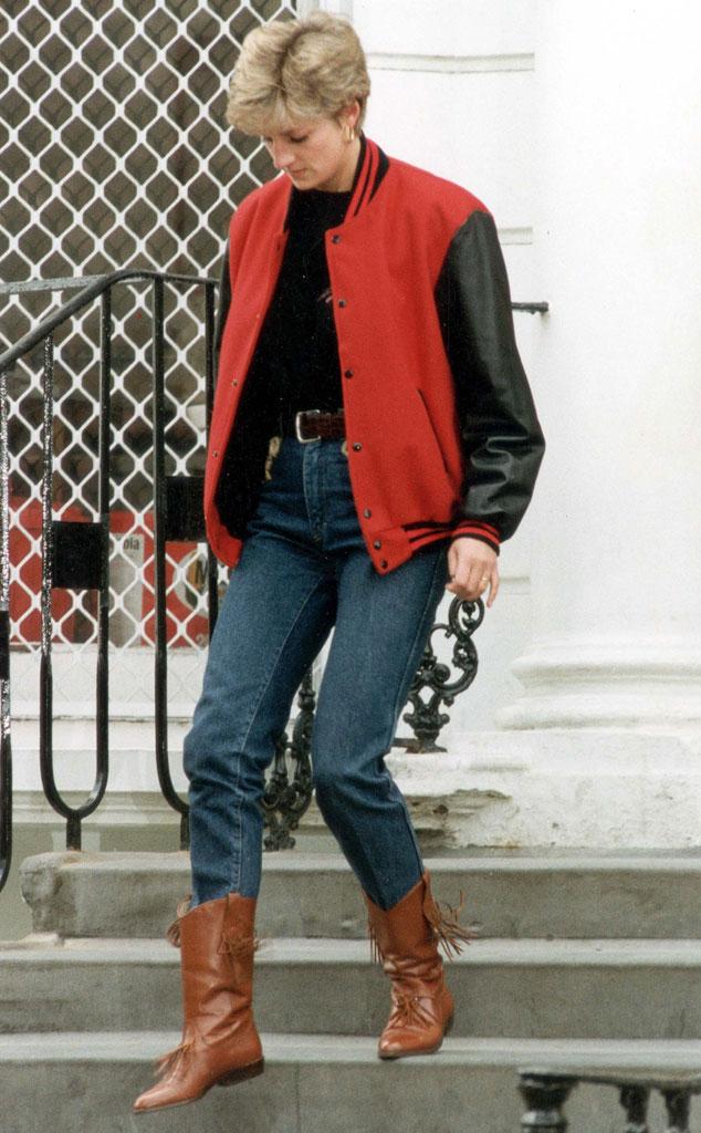Đẹp như công nương Diana thì chỉ mặc quần jeans cũng xuất sắc hơn người - Ảnh 9.