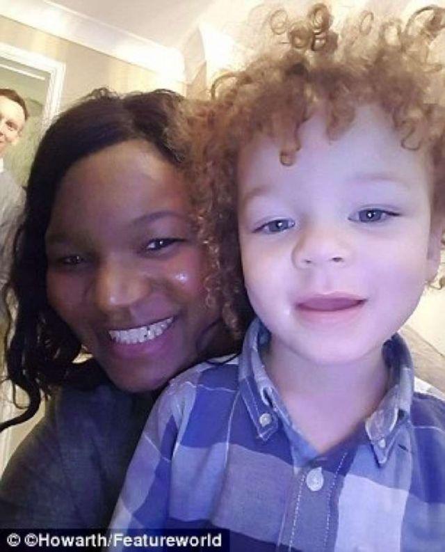 Chàng trai da trắng kết hôn với cô gái da đen, ai cũng sốc khi nhìn thấy con của họ - Ảnh 3.
