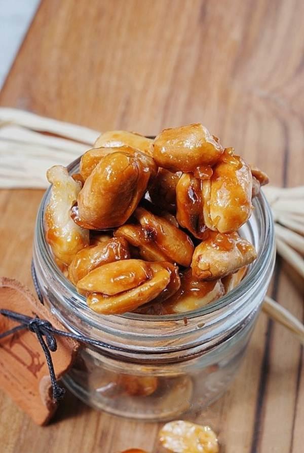 Đậu phộng caramen món ăn vặt tuyệt ngon - Ảnh 6.