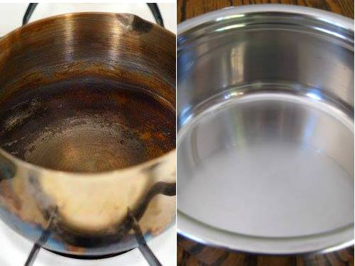 Thắng nước màu mà đường cháy bám bếp, bám nồi cỡ nào cũng sạch trong vài phút - Ảnh 1.