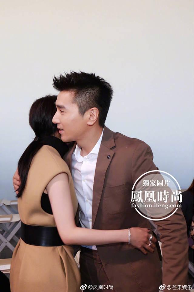 Vợ chồng Dương Mịch - Triệu Hựu Đình hội ngộ vui vẻ tại New York - Ảnh 2.