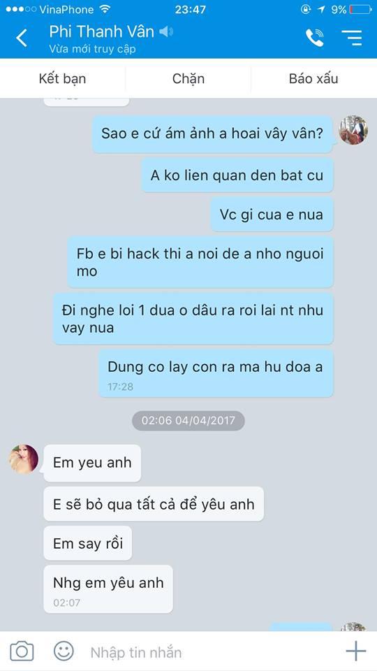 Lộ tin nhắn Phi Thanh Vân năn nỉ chồng quay lại sau khi ly hôn - Ảnh 3.