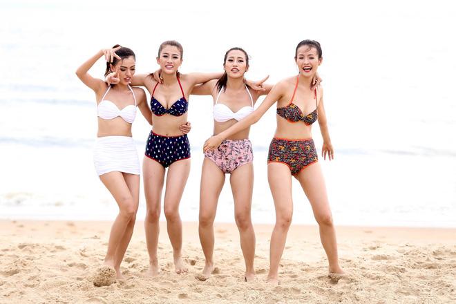 So bì vóc dáng của các thí sinh The Face khi khoe dáng với bikini - Ảnh 3.