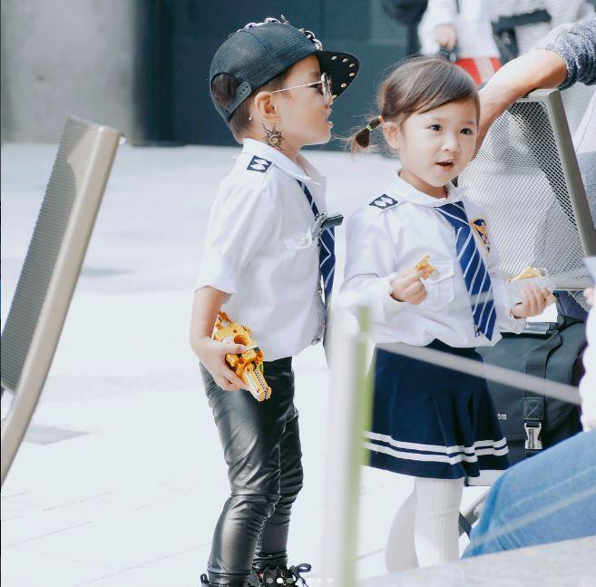 Đến tuần lễ thời trang Seoul, bạn sẽ chết mê với loạt street style chất lừ của các nhóc tì - Ảnh 6.