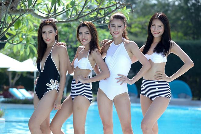 So bì vóc dáng của các thí sinh The Face khi khoe dáng với bikini - Ảnh 2.