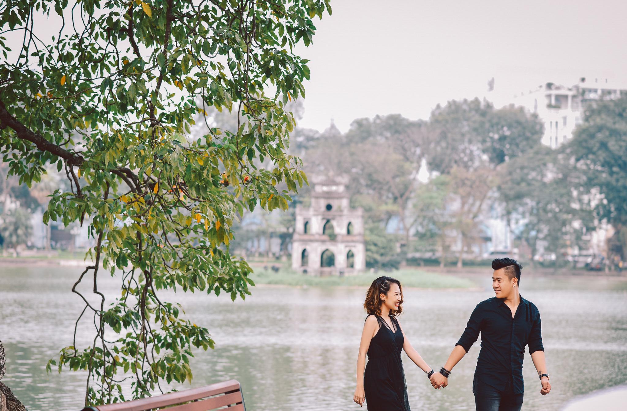 Bộ ảnh cưới Nắm tay nhau đi khắp Bắc - Trung - Nam chú rể nhiếp