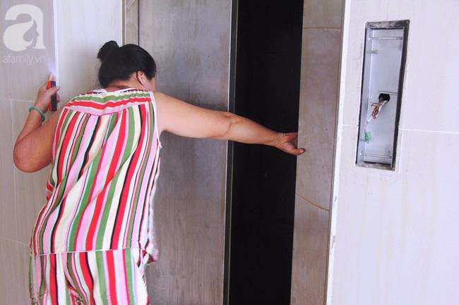 Vừa sống vừa run trong chung cư có thang máy hỏng bị rút ruột, sâu hun hút chờ nuốt người - Ảnh 4.
