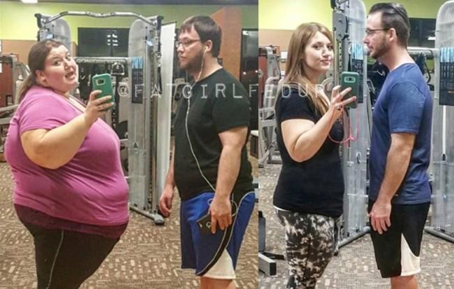 Giảm gần 140kg trong 1,5 năm, người phụ nữ nặng 220kg đã nhận được kết quả ngoài tưởng tượng - Ảnh 1.