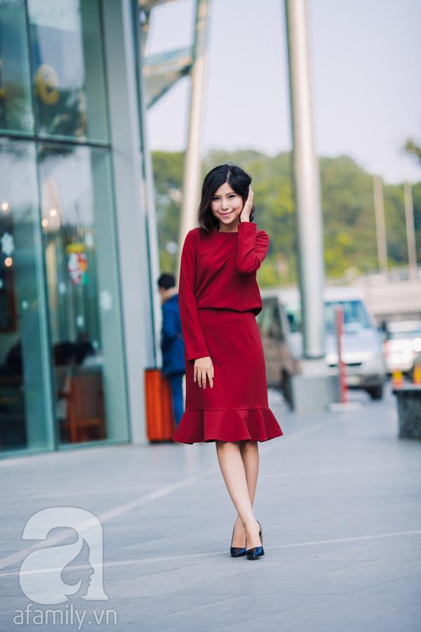 Tết này có trót tăng cân thì cũng chẳng lo lộ dáng với những thiết kế váy áo này - Ảnh 16.