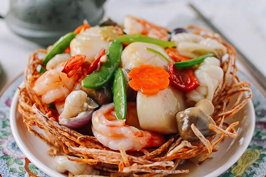Mách bạn cách làm món ngon với hải sản tổ chim cho ngày Tết ngon như nhà hàng ảnh 8