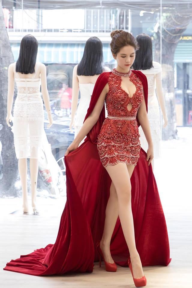 Không phải bàn cãi gì nữa, danh hiệu nữ hoàng thảm đỏ 2016 chính là Ngọc Trinh - Ảnh 1.