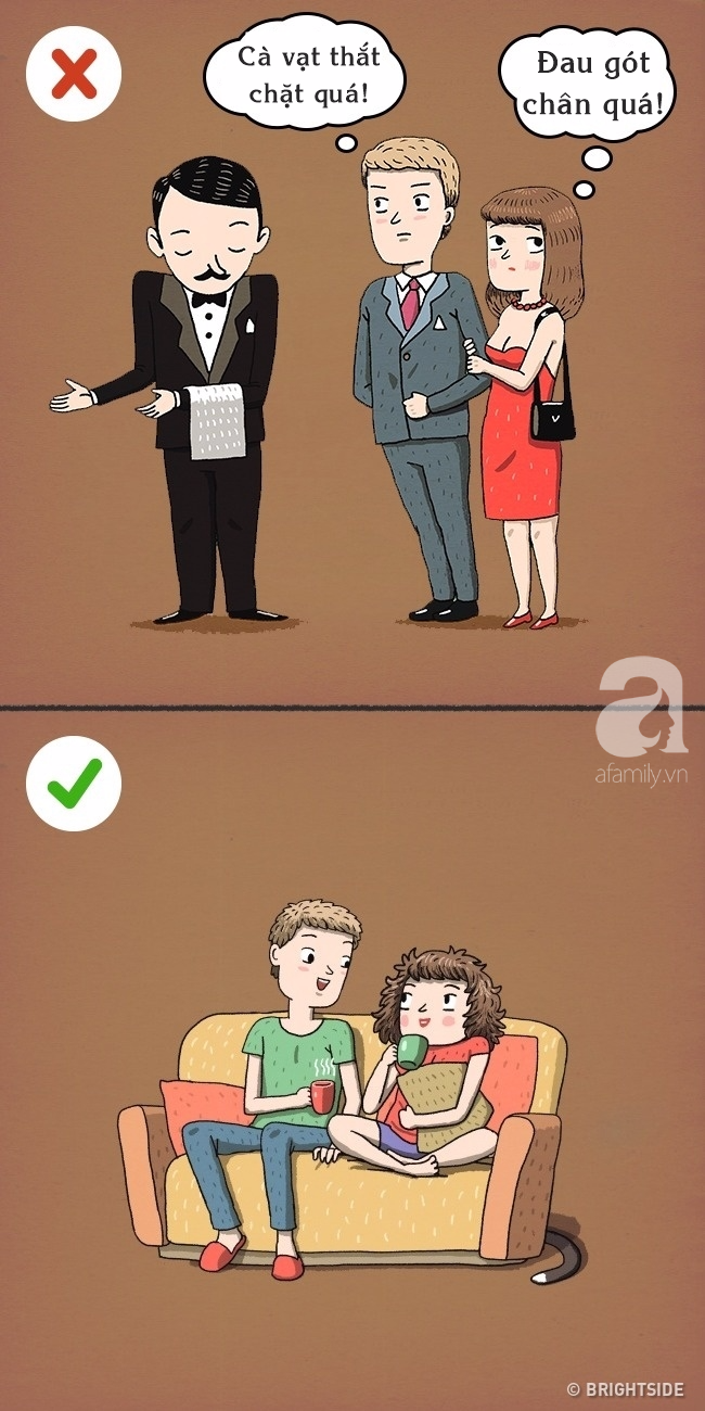 Những bức tranh khiến bạn phải nghĩ lại về các bí quyết hôn nhân tưởng 100% là đúng! - Ảnh 8.