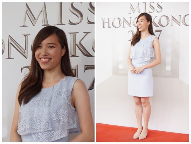 Thí sinh Hoa hậu Hong Kong 2017 vừa xấu, vừa lộ vai thô, chân to - Ảnh 4.