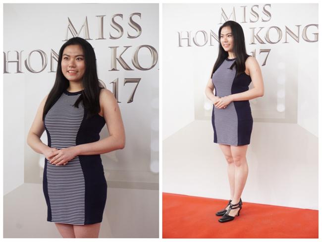Thí sinh Hoa hậu Hong Kong 2017 vừa xấu, vừa lộ vai thô, chân to - Ảnh 5.
