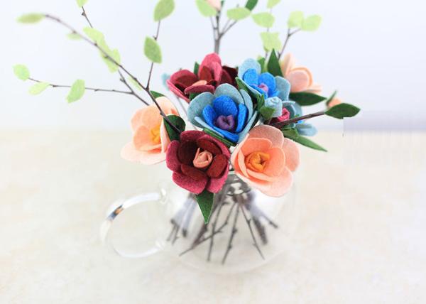 Làm hoa vải dạ chưa bao giờ dễ đến thế với 3 cách đơn giản - Ảnh 11.