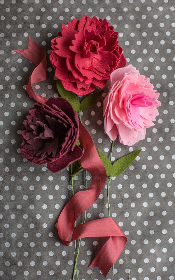 Làm hoa vải dạ chưa bao giờ dễ đến thế với 3 cách đơn giản - Ảnh 7.