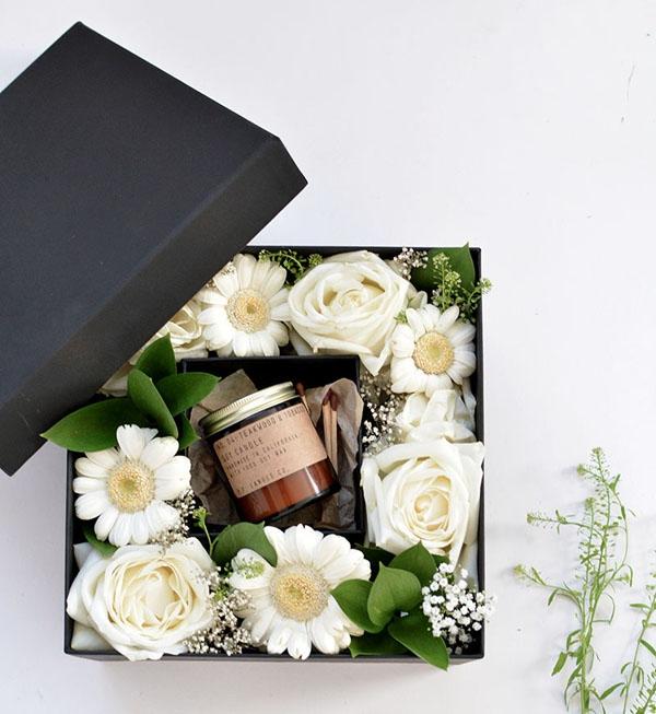 Tự làm hộp quà hoa 2 trong 1 siêu cute cực đơn giản - Ảnh 5.
