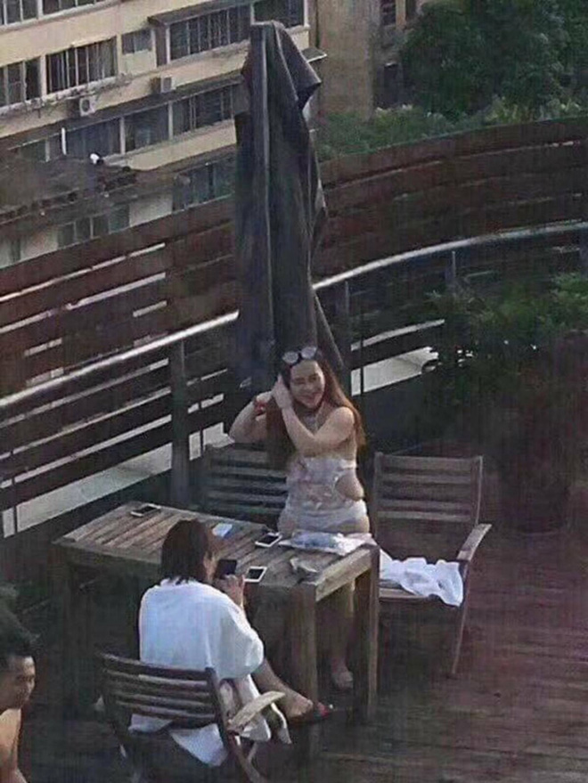 Hot girl Trung Quốc lộ mặt mộc già như bà thím trên livestream khiến các fan cuồng tá hỏa - Ảnh 15.