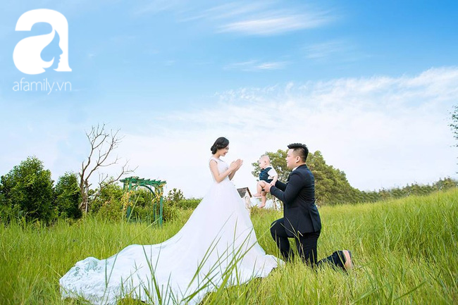 Đẻ xong mới cưới - cô dâu lãi to một lúc được 2 người đàn ông - Ảnh 7.