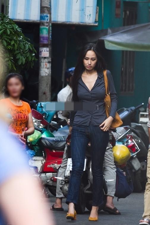 Hình đăng lên trang cá nhân chau chuốt, nhưng lúc nào bị chụp trộm sao Việt cũng luôn trong style... luộm thuộm - Ảnh 11.