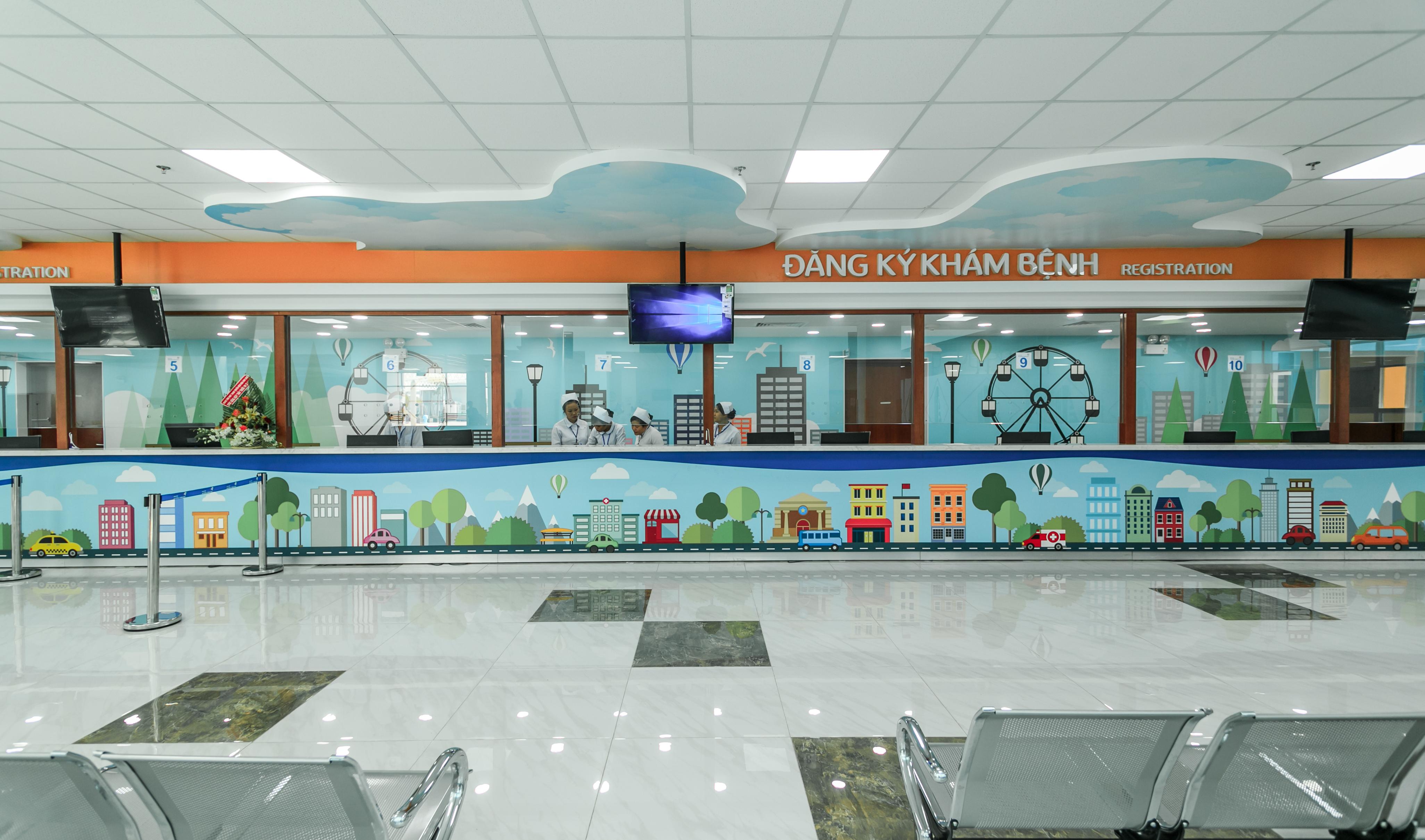 Ở Sài Gòn, có một Bệnh viện Nhi đồng Thành phố xinh xắn như trường mầm non - Ảnh 9.