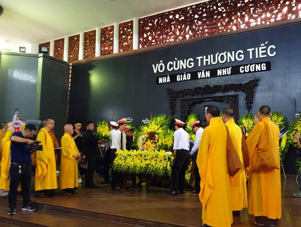 Đám tang thầy Văn Như Cương: Giọt nước mắt trong tâm dành cho người thầy đáng kính - Ảnh 4.