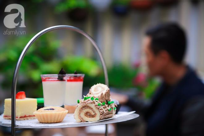 Cuối tuần lơ đễnh, hưởng thụ không gian đậm chất sở sương mù, nếm trà bánh trong căn gác nhỏ giữa phố cổ Hà Nội - Ảnh 15.