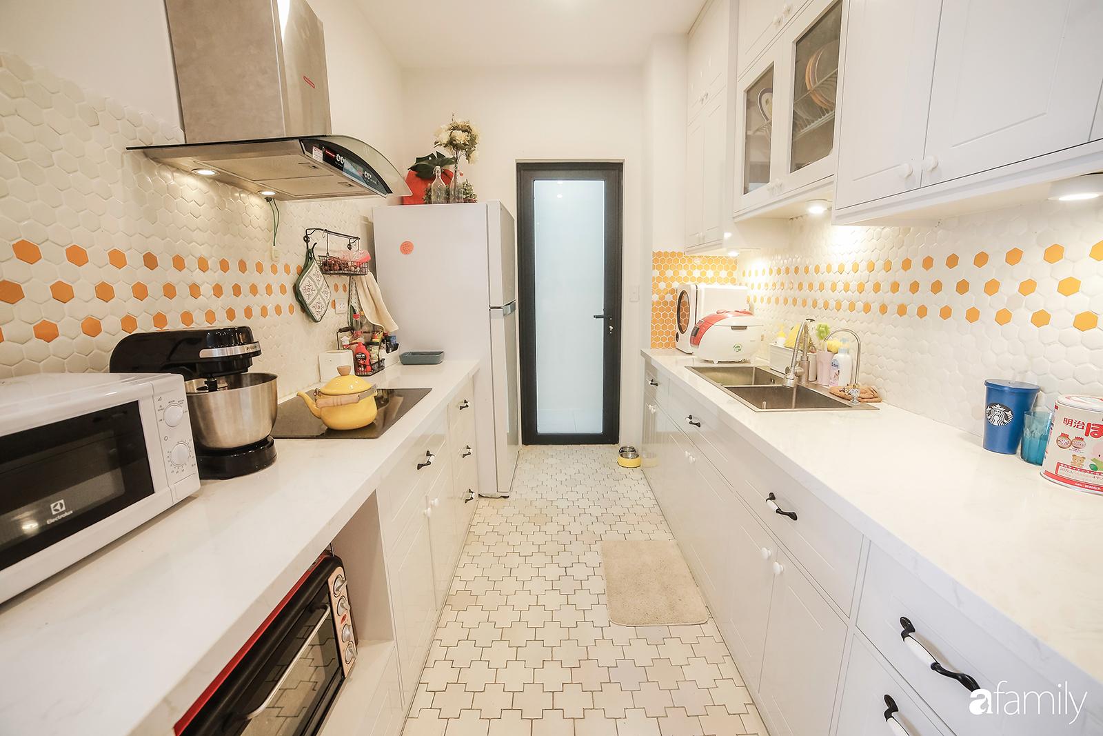 Căn hộ 95m² đẹp tới từng góc nhỏ của cặp vợ chồng hot boy - hot girl 9x nổi tiếng đất Hà Thành - Ảnh 14.