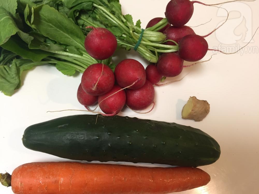 15 phút có ngay món salad củ cải đỏ đem lại may mắn cả năm - Ảnh 1