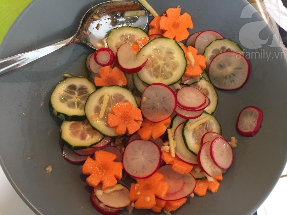 15 phút có ngay món salad củ cải đỏ đem lại may mắn cả năm - Ảnh 5