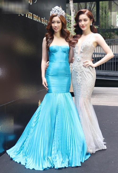 Ngay sự kiện công bố tham dự cuộc thi Hoa hậu Thế giới 2017, HH Đỗ Mỹ Linh đã bị dìm dáng không thương tiếc - Ảnh 2.