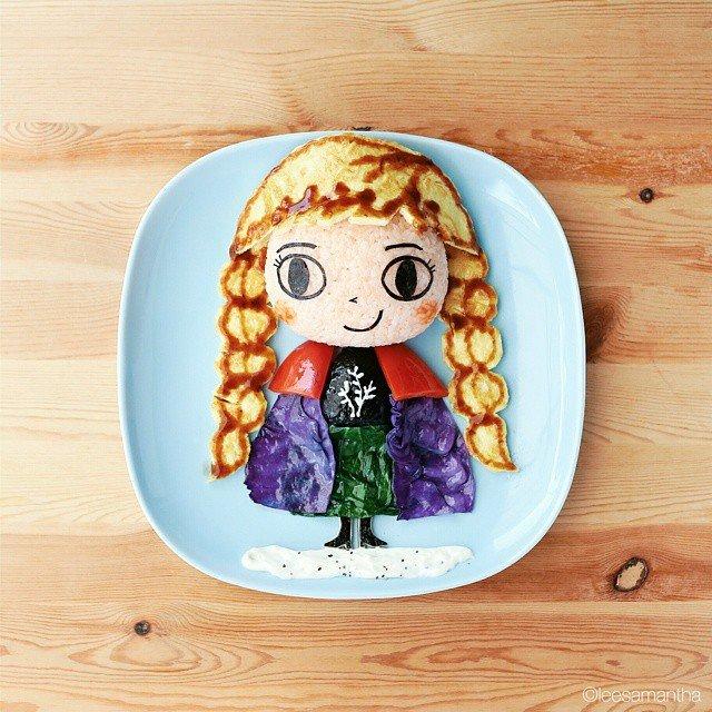 Bà mẹ khéo tay nhất năm biến những bữa ăn của con thành thế giới hoạt hình đầy màu sắc - Ảnh 1.
