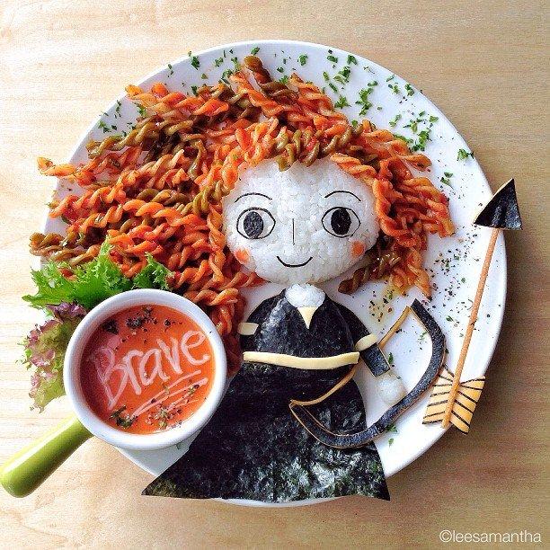 Bà mẹ khéo tay nhất năm biến những bữa ăn của con thành thế giới hoạt hình đầy màu sắc - Ảnh 11.