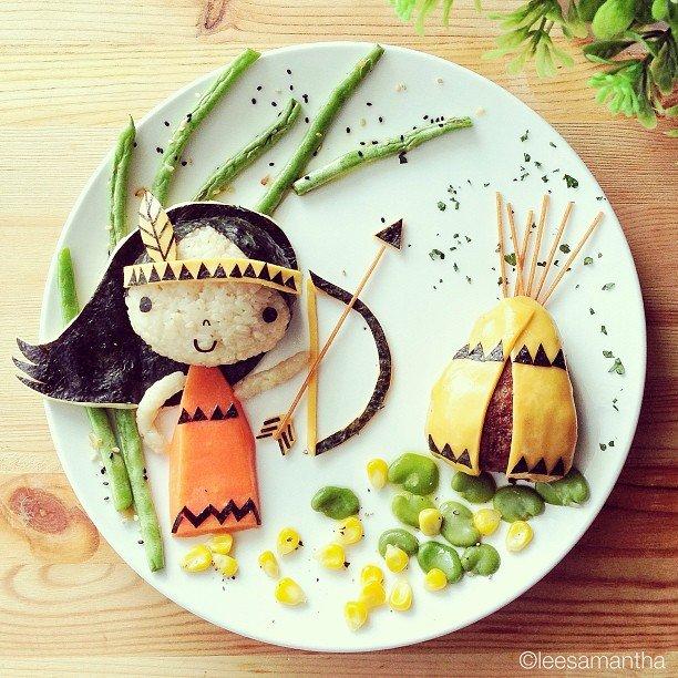 Bà mẹ khéo tay nhất năm biến những bữa ăn của con thành thế giới hoạt hình đầy màu sắc - Ảnh 15.