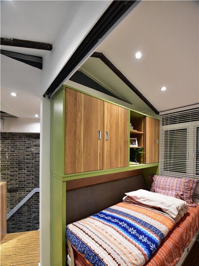Ngôi nhà 30m² méo mó trong hẻm cụt của gia đình 3 thế hệ trở nên rộng thênh thang sau khi cải tạo - Ảnh 8.