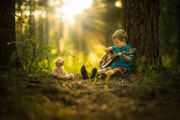 Phát hờn với bộ ảnh tuyệt đẹp bố chụp con trai trong nông trại - Ảnh 14.